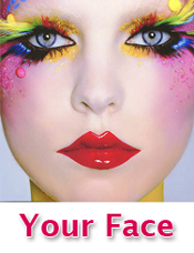 Your face